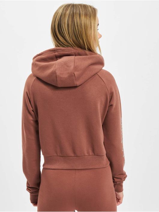 adidas Originals Zip Hoodie Cropped Track brown