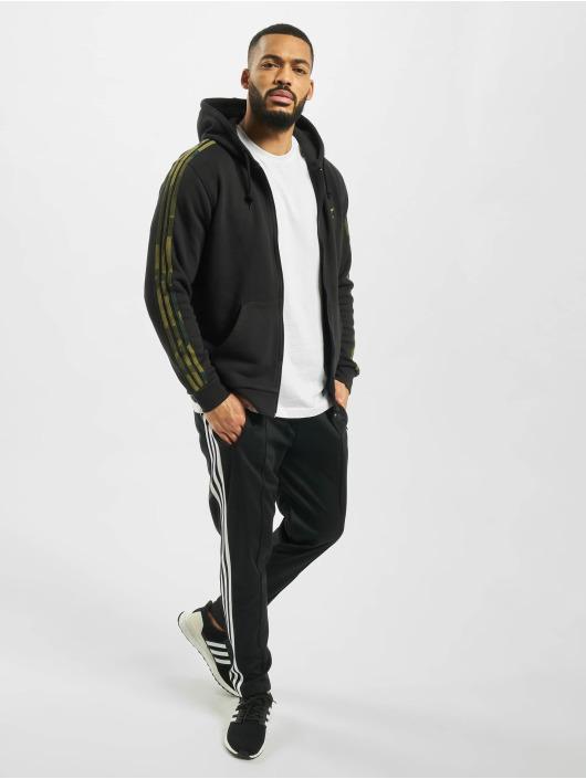 adidas Originals Zip Hoodie Camo Full czarny