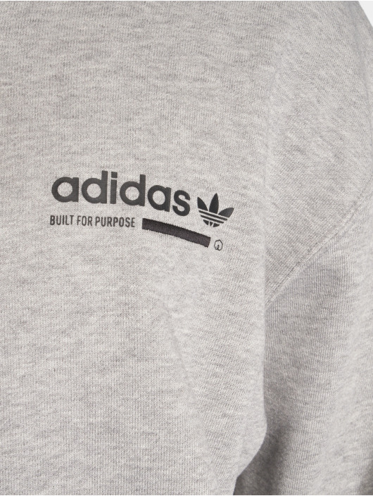 online store special section info for Adidas Originals Kaval Fz Hoody Transition Jacket Medium Grey Heather