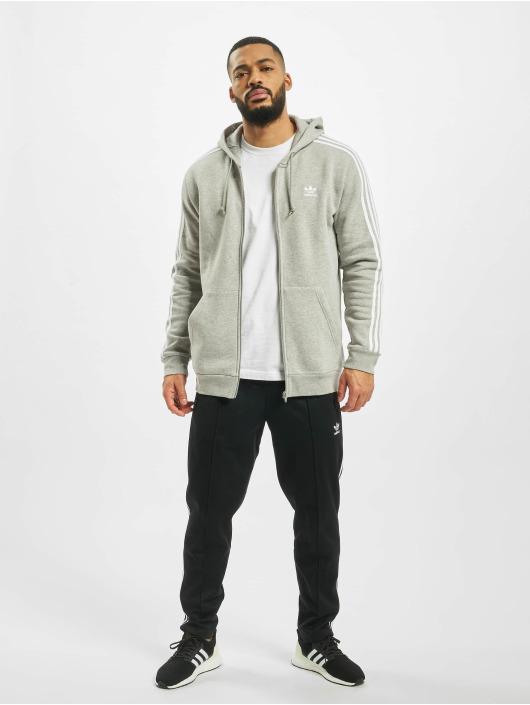 adidas Originals Zip Hoodie 3-Stripes Full grey