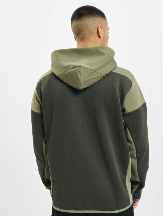 adidas Originals Zip Hoodie ZNE Aerordy oliven