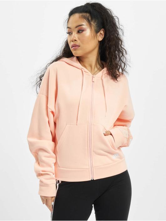 adidas Originals Zip Hoodie W Bos Aop rosa