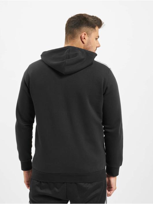 adidas Originals Zip Hoodie 3-Stripes Full svart