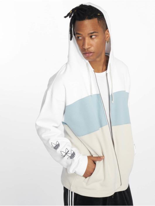 adidas Originals Zip Hoodie Full Zip white