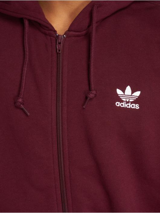 adidas originals Zomerjas Trf Flc Hoodie rood