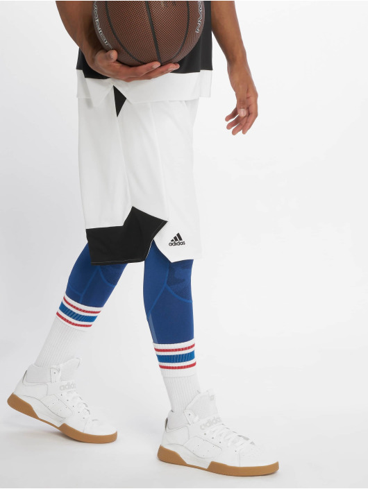 adidas Performance Basketballshorts Crazy Explosive hvit