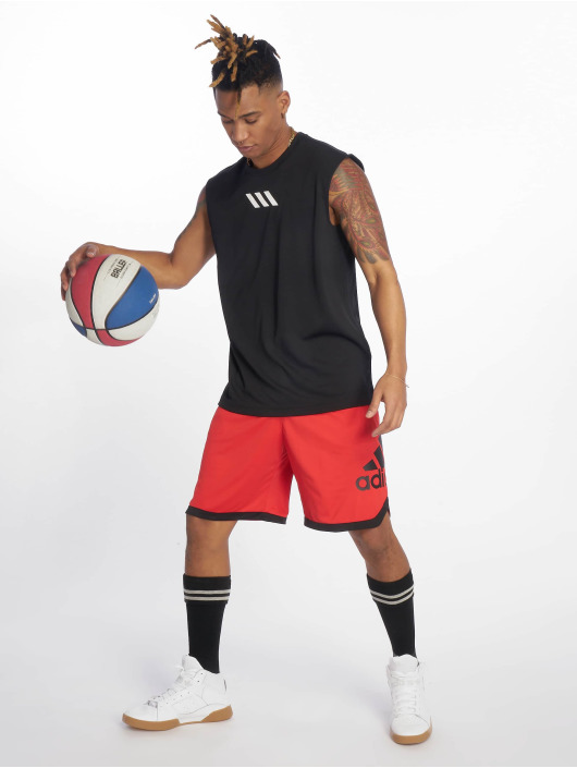 adidas Performance Basketballshorts SPT BOS red