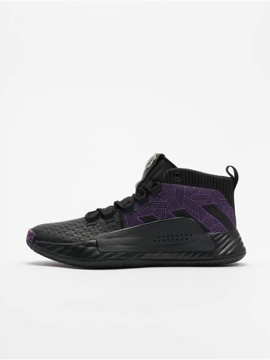 sneakers basses adidas hoops 2.0 noir baskets et tennis