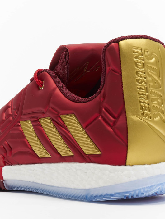 adidas Performance Baskets Harden Vol. 3 rouge
