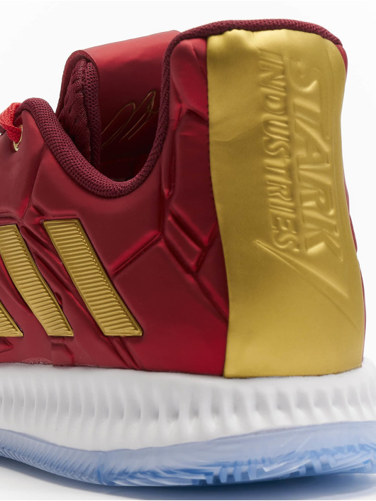 adidas Performance Baskets Harden Vol. 3 J rouge