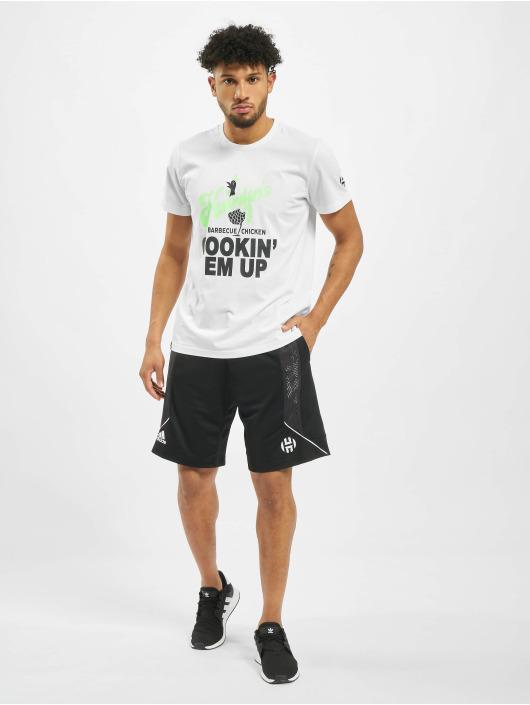 adidas Performance Camiseta Harden Swag Art blanco