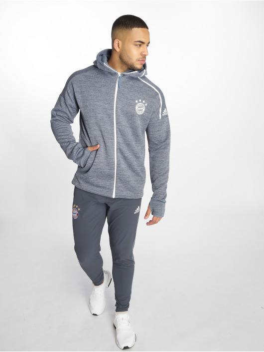 adidas Performance Fußballhosen FC Bayern EU Training modrá
