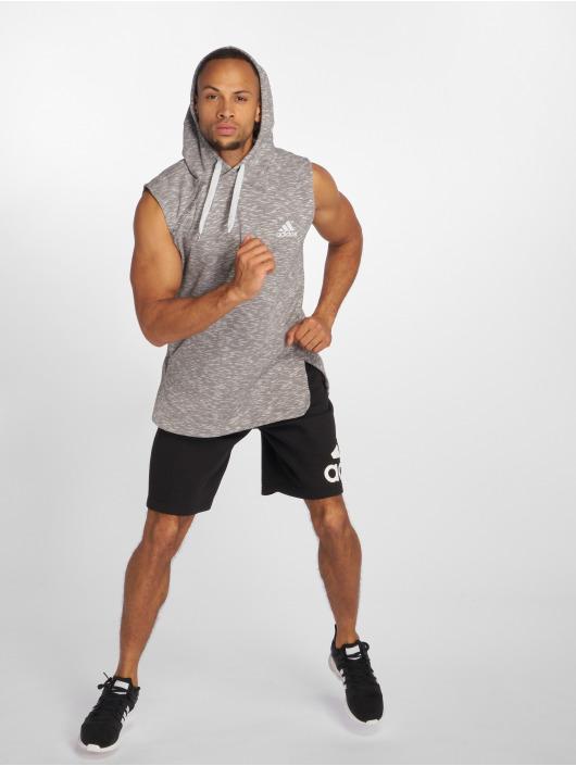adidas Performance Hoodies Shooter šedá