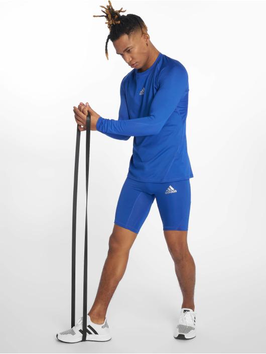 adidas Performance Kompressionsshorts Alphaskin blau