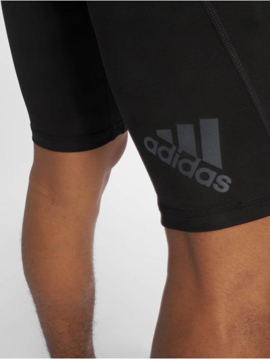 adidas Performance Kompressionsshorts Alphaskin czarny
