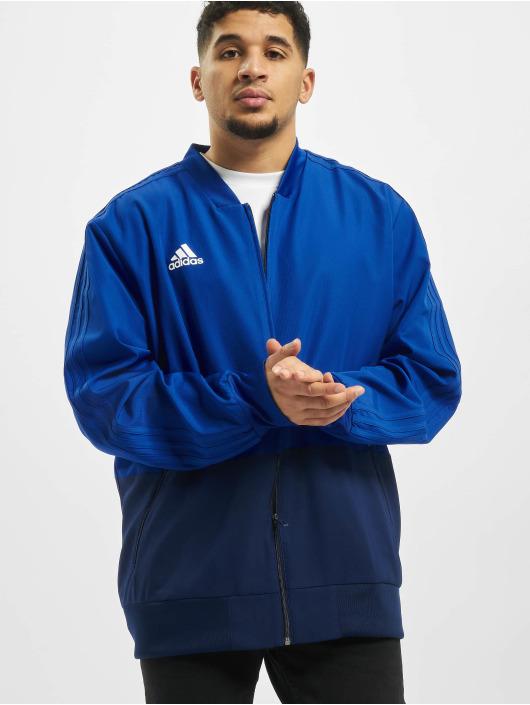 adidas Performance Kurtki przejściowe Condivo 18 Pre niebieski