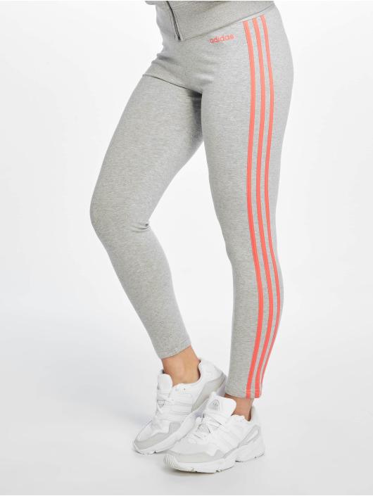 adidas Performance Legging Essentials 3 Stripes gris