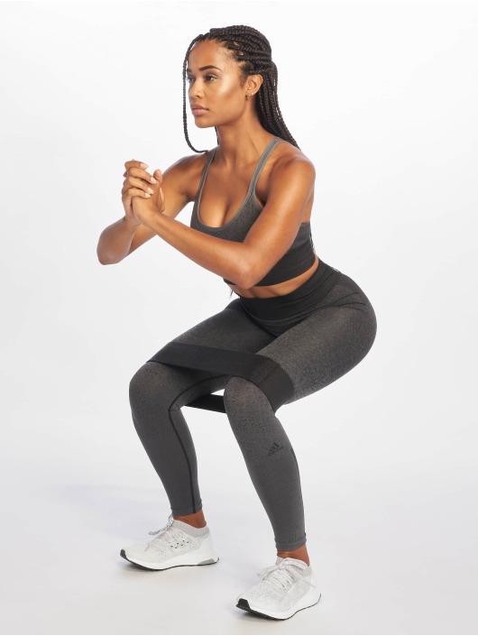 adidas Performance Leggings/Treggings Primeknit czarny