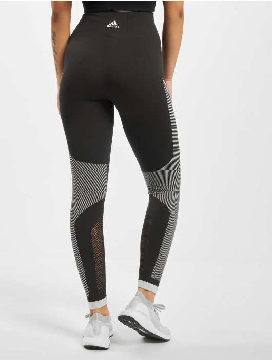 adidas Performance Leggings/Treggings Believe This Primeknit FLW czarny
