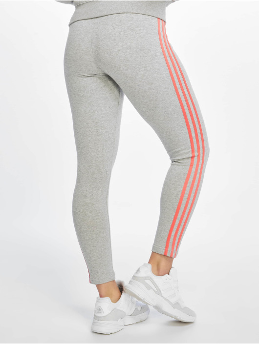 adidas Performance Leggings/Treggings Essentials 3 Stripes grå