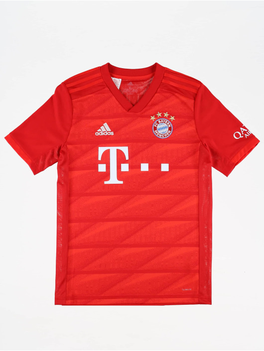 adidas Performance Maillot de Football FC Bayern Home rouge