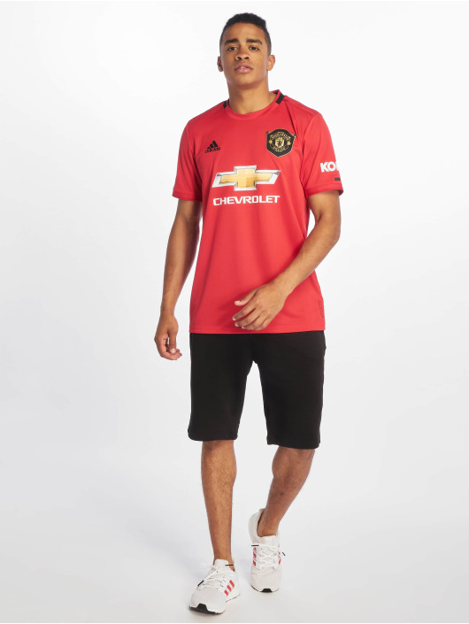 adidas Performance Maillot de sport Manchester United Home rouge
