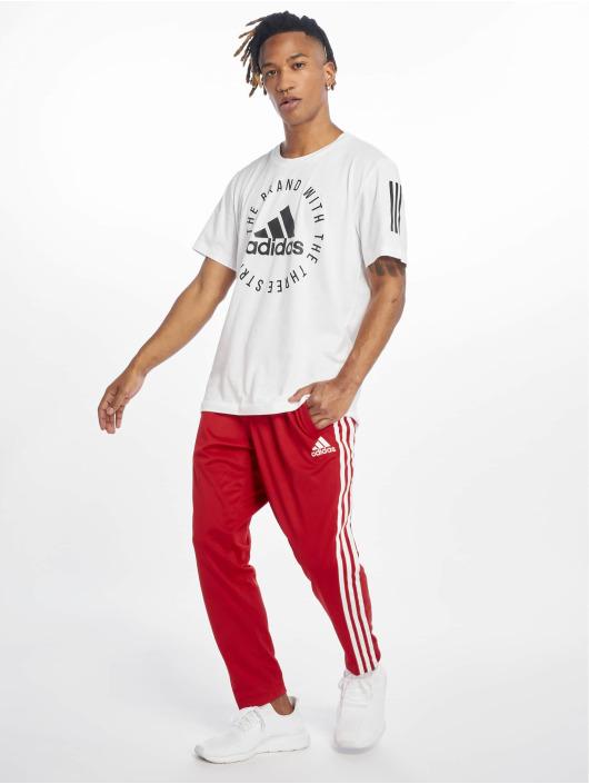 adidas Performance Pantalón deportivo Marquee rojo