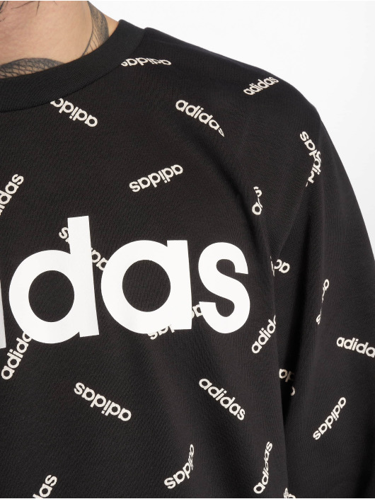 adidas Performance Pullover AOP schwarz
