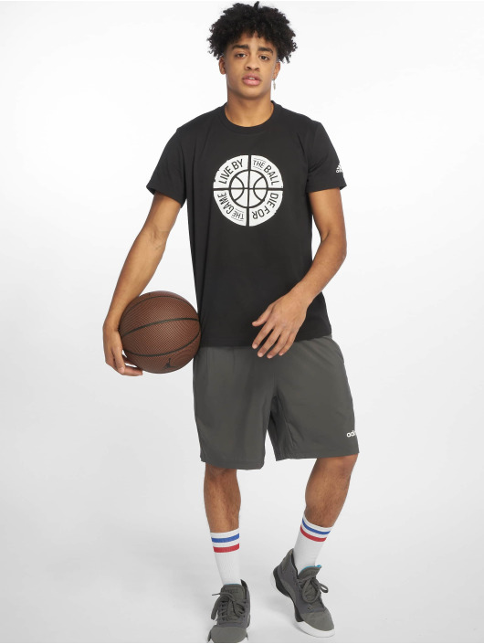 adidas Performance Shirts desportes Live By Ball negro