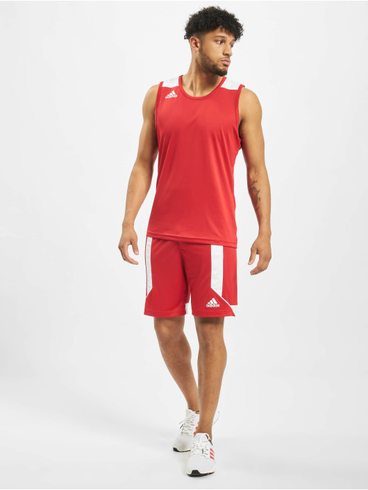 adidas Performance Shorts Game rosso
