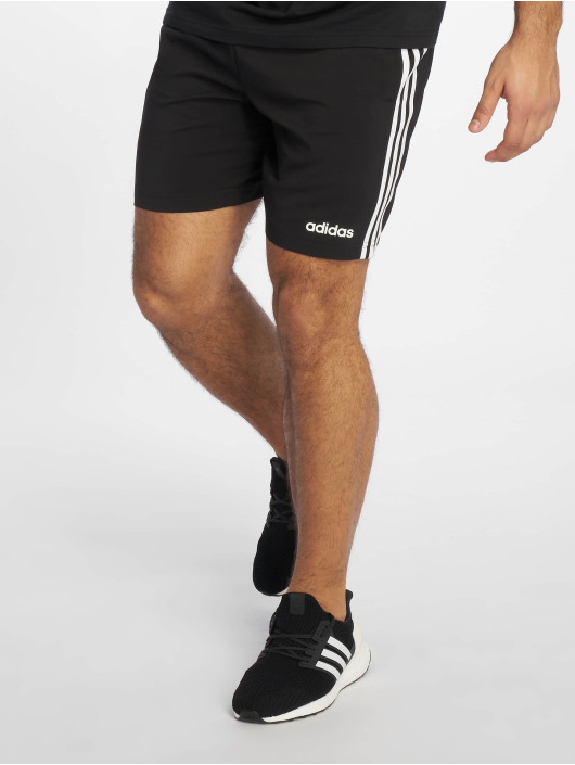 adidas 3S Chelsea Shorts BlackWhite