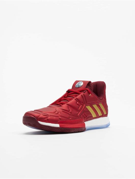 Adidas Harden Vol. 3 Basketball Shoes ScarletCollegiate BurgundyGolden Met