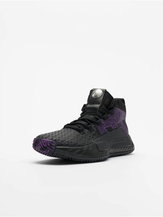 adidas Performance Sneaker Dame 5 J Basketball schwarz