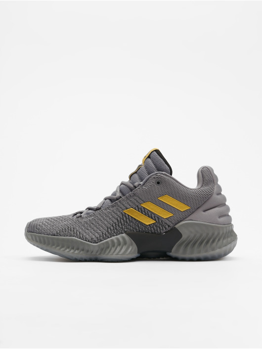 Adidas Pro Bounce 2018 Low Mens Rød Basketball Sko Outlet