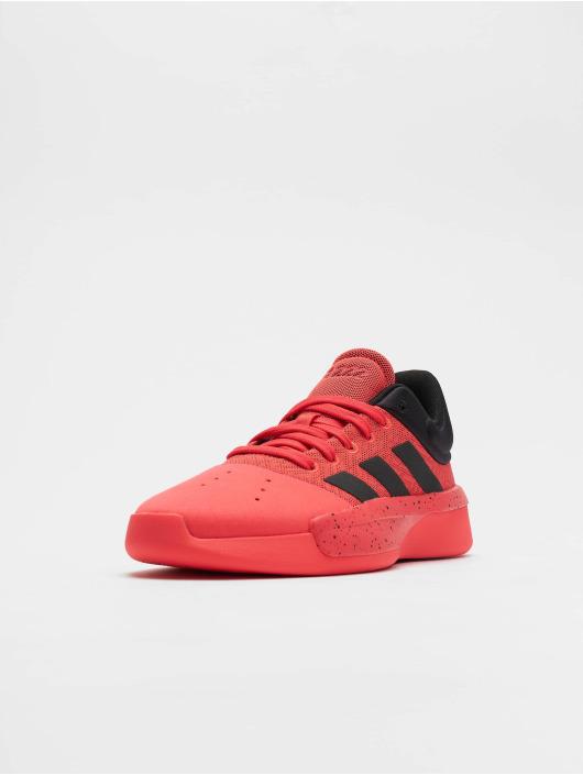 adidas Performance Snejkry Pro Adversary Low 2 Basketball Shoes červený