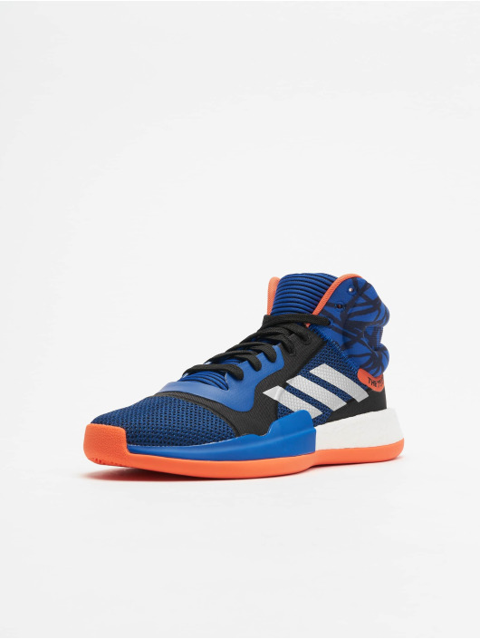 adidas Performance Snejkry Marquee Boost Basketball modrý