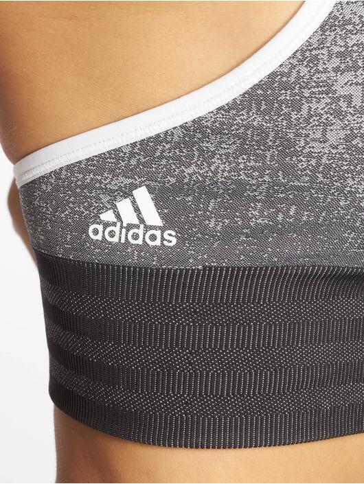 adidas Performance Soutiens-gorge de sport All Me Primeknit gris