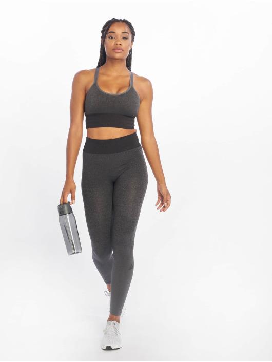 adidas Performance Spodná bielizeň All Me Primeknit Sport Bra šedá