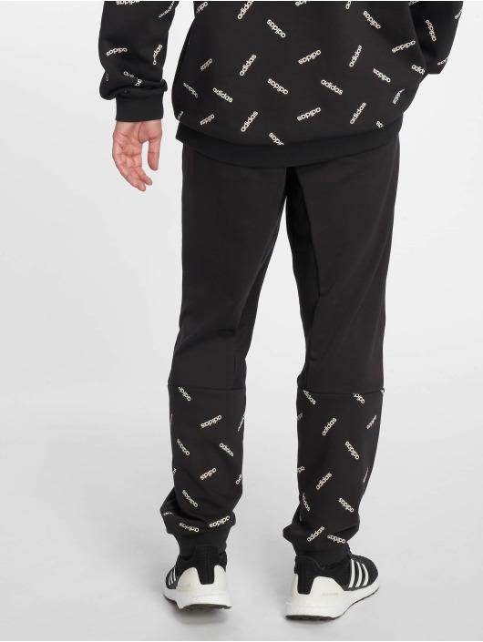 adidas Performance Spodnie do joggingu AOP czarny