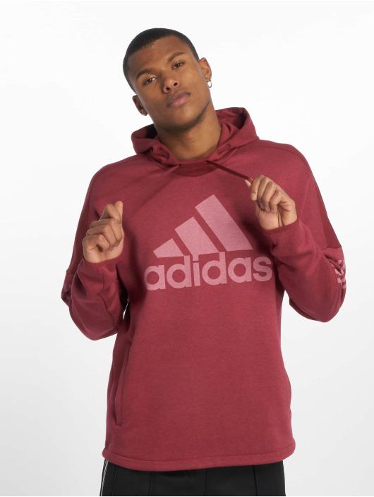 adidas Performance Sport Hoodies Sid Logo czerwony