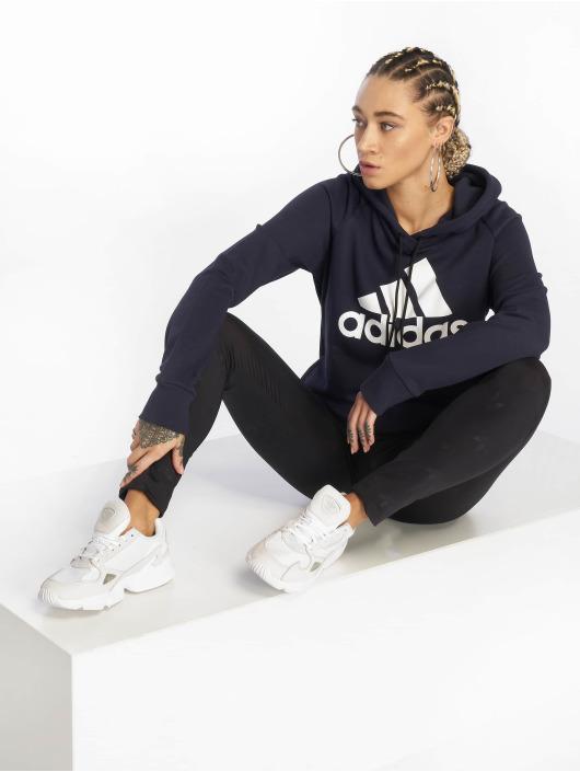 adidas Performance Sport Hoodies Bos niebieski