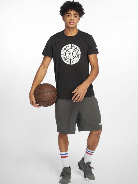 adidas Performance Sport Shirts Live By Ball svart