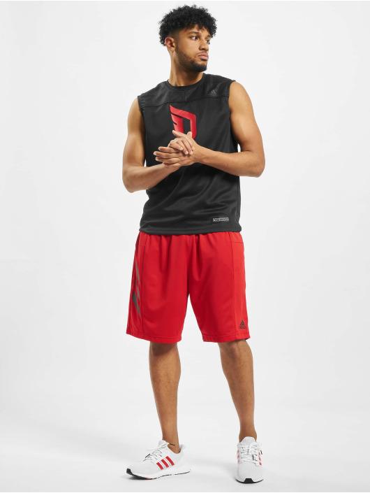 adidas Performance Sport Shorts SPT 3 Stripes rot