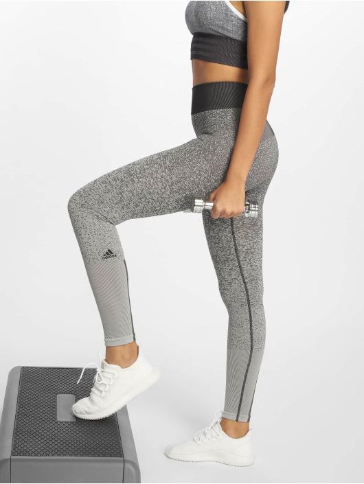 adidas Performance Sportleggings Primeknit grå