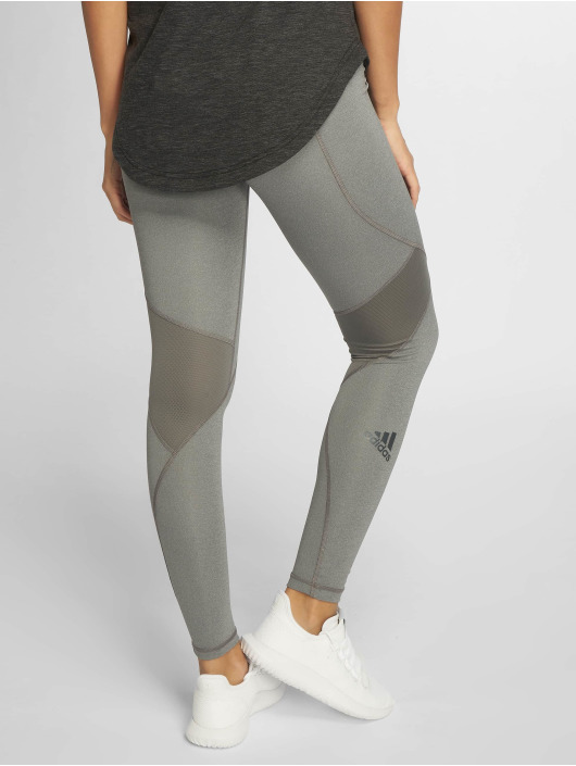 adidas Performance Sportleggings Alphaskin grå