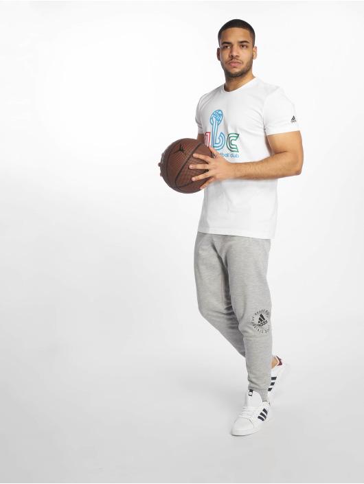 adidas Performance Sportshirts ABC bílý