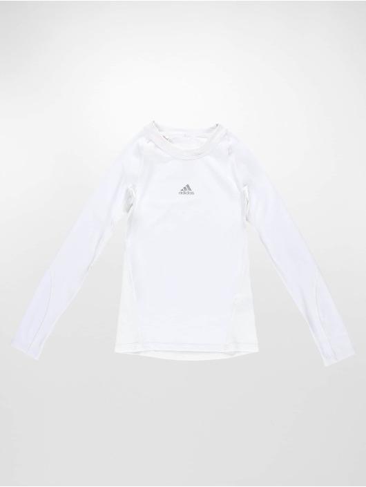 adidas Performance Sportshirts Alphaskin biela