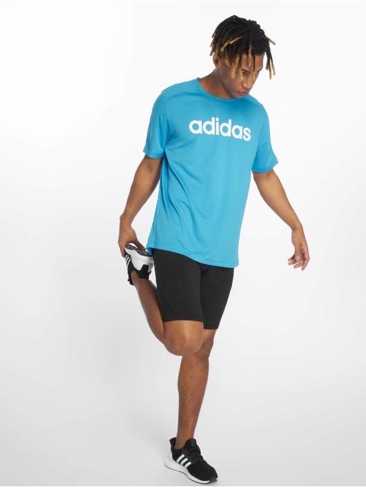 adidas Performance Sportshirts Cool Logo blau