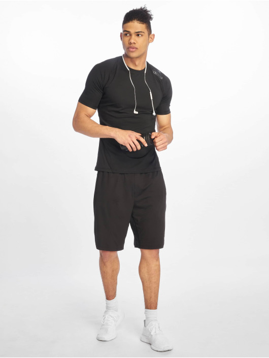 adidas Performance Sportshirts Alphaskin czarny