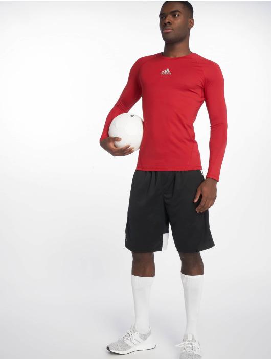 adidas Performance Sportshirts Alphaskin czerwony